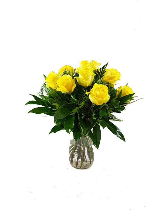 bouquet rose gialle